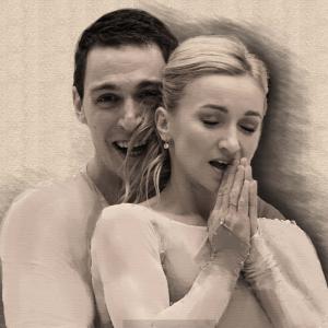 Alyona Savchenko and Bruno Massot